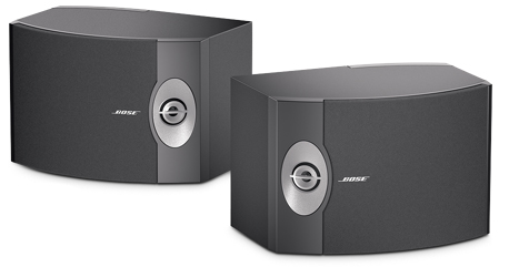 Satellite speakers help cap off a home theater sound system.