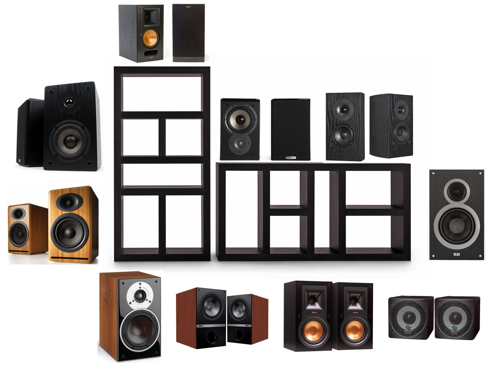 speakers top series bookshelf bass best head elac of