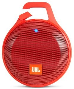 If you want a sleek size, the JBL Clip+ is great for under 50 bucks