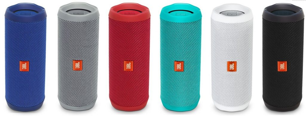 The many colors of the JBL Flip 4