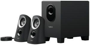 An awesome 2.1 gaming speaker system