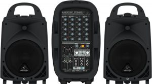 Behringer's best portable PA speaker system