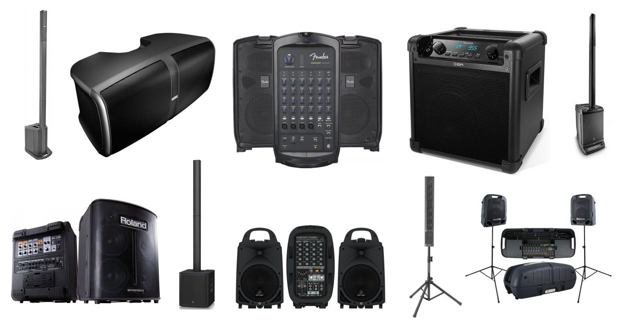 The Top 10 Best Portable Pa Speaker Systems My Speaker Guide