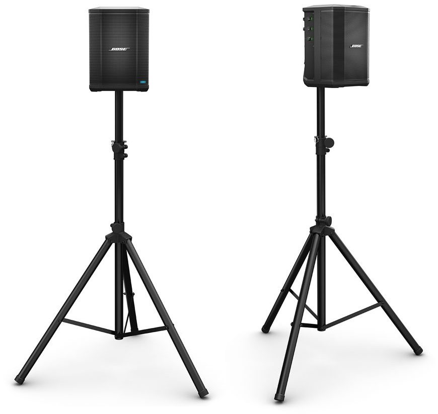 An example of the S1 Pro mounted on a speaker stand
