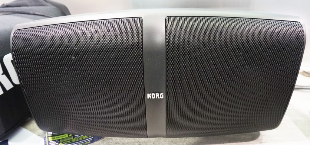 The front of the Korg Konnect speaker
