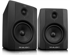 Another M-Audio pair of studio monitor speakers under $200
