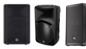 We found the best PA speakers with passive power