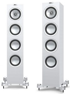 A mid-range pair of floorstanding speakers here